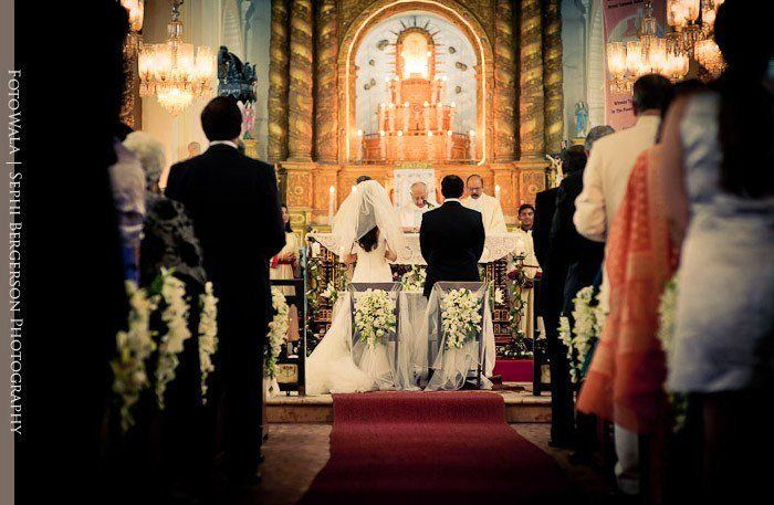 Goa wedding photojournalist - A wedding at the Church of Our Lady of the Immaculate Conception Goa