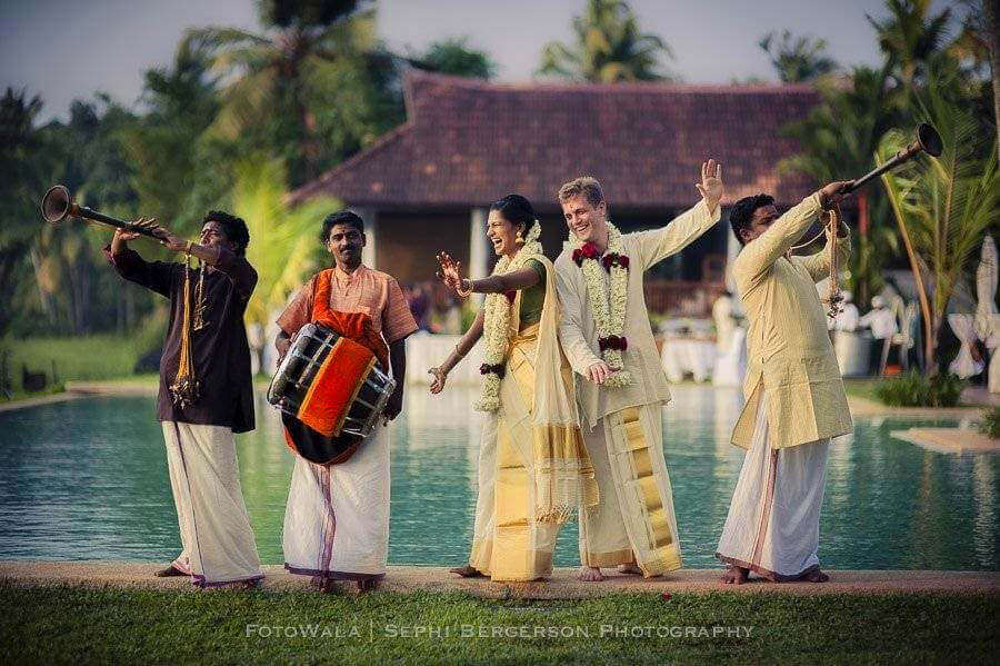 wedding photography india Kumarakom lake resort