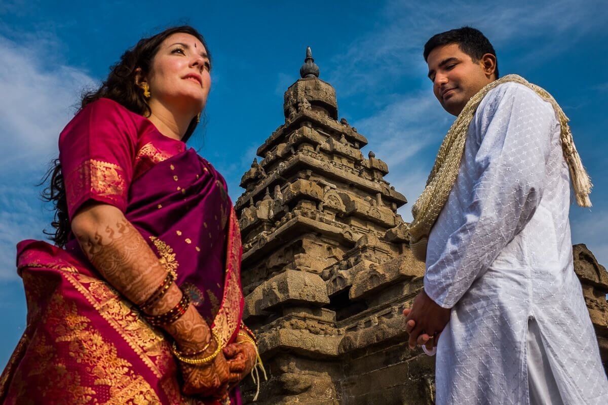 south indian wedding mahabalipuram