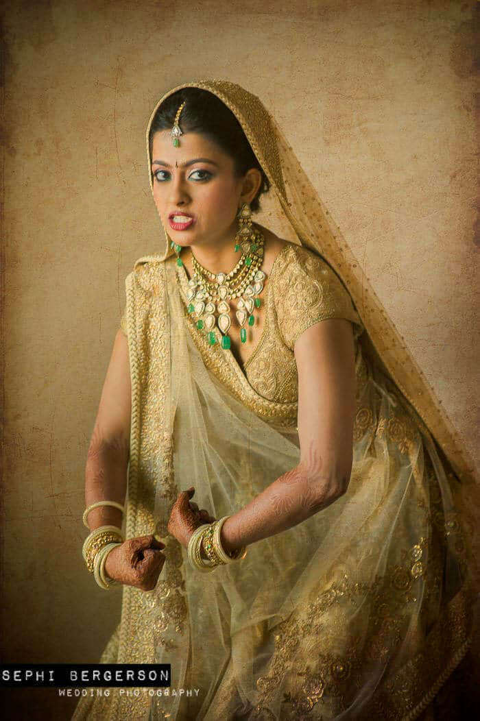 Mumbai bridal portrait