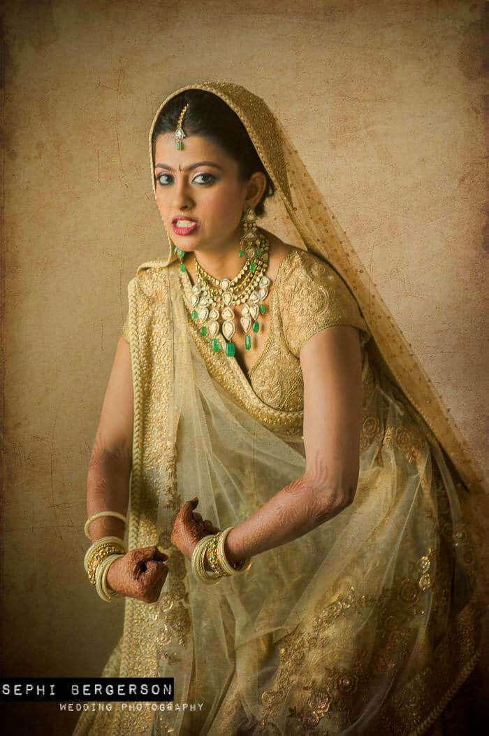 Mumbai bridal portrait