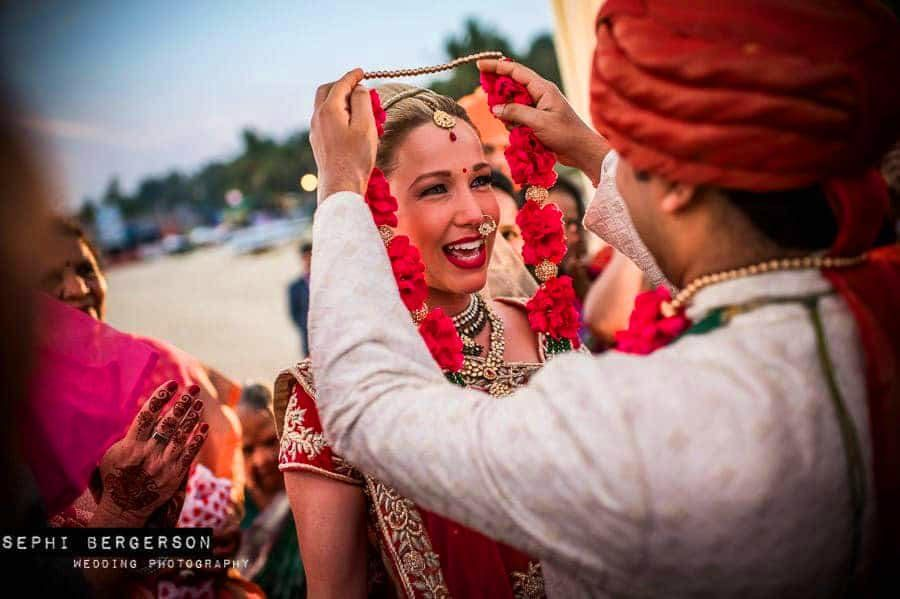 beach wedding Goa, Goa wedding photographer