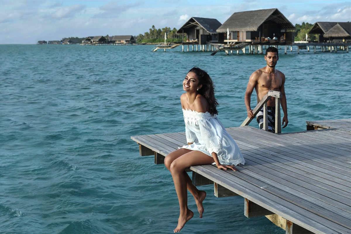 Ashish Chawla Silk Photos maldives