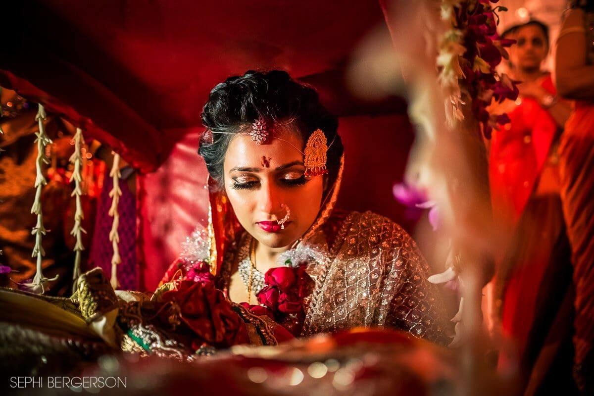 Indian wedding photography with LED