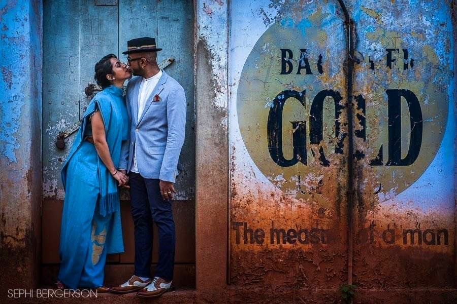 Benny Dayal fun couple shoot Goa