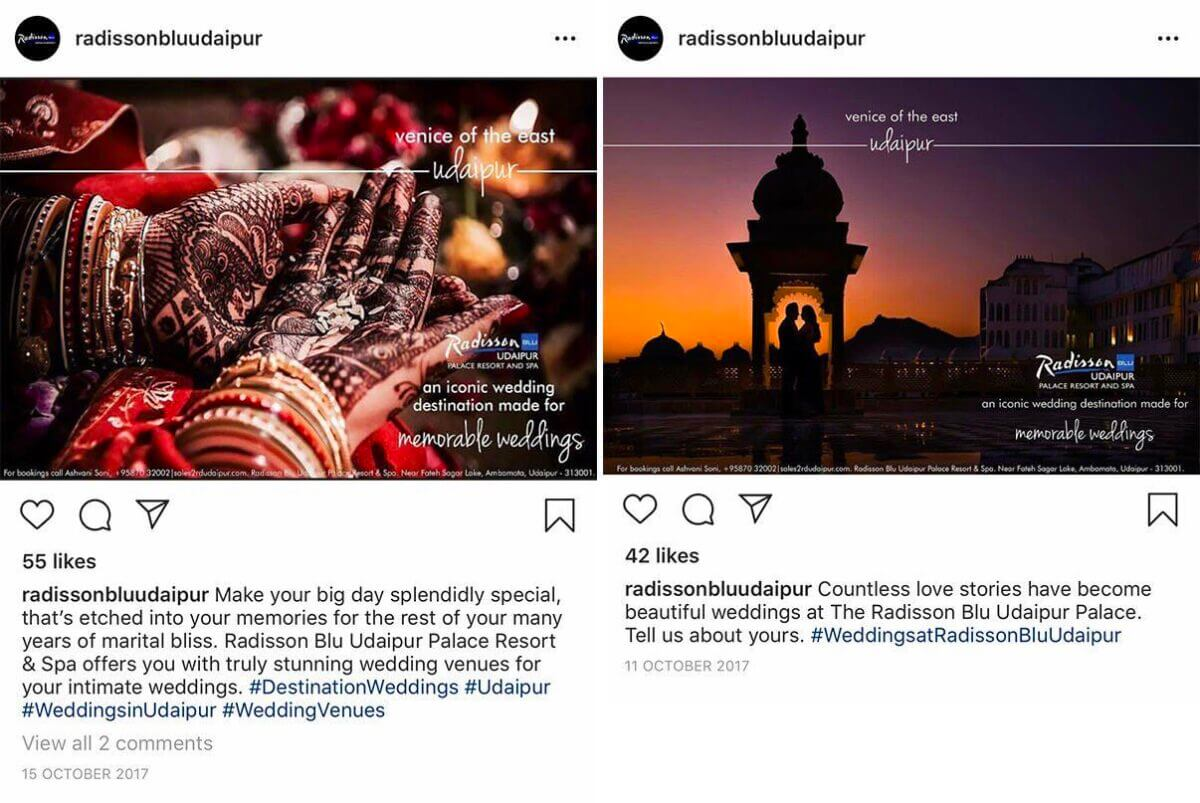 Photographer stunned to find two of his copyrighted images used without permission by the Radisson Blu hotel in Udaipur.