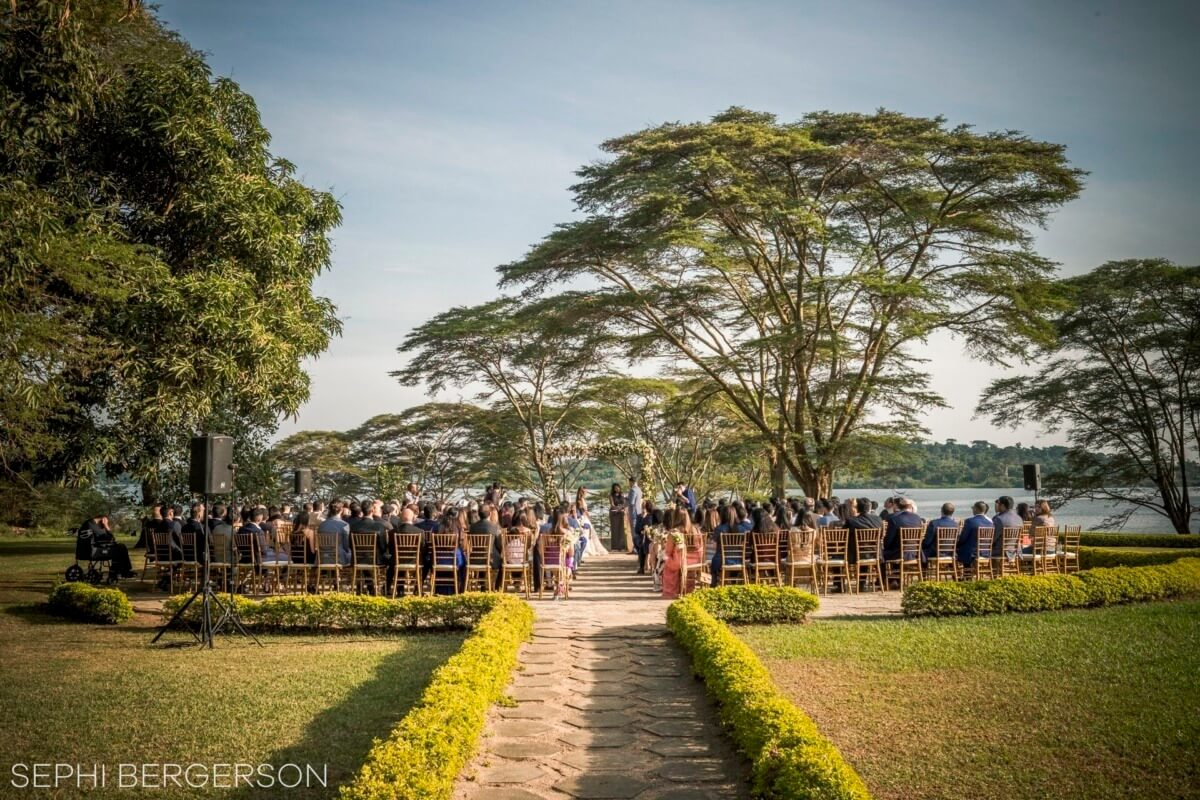 wedding at munyonyo commonwealth resort