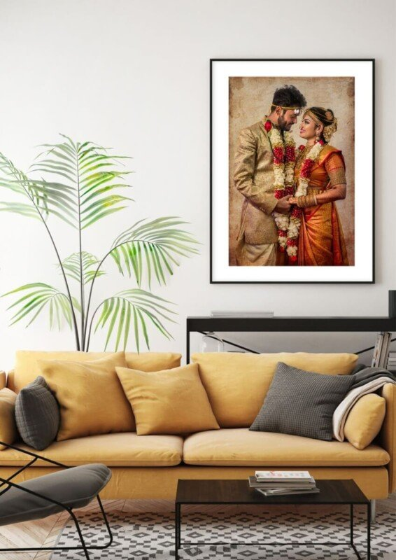 fine art prints of your wedding picture | SILK Photos