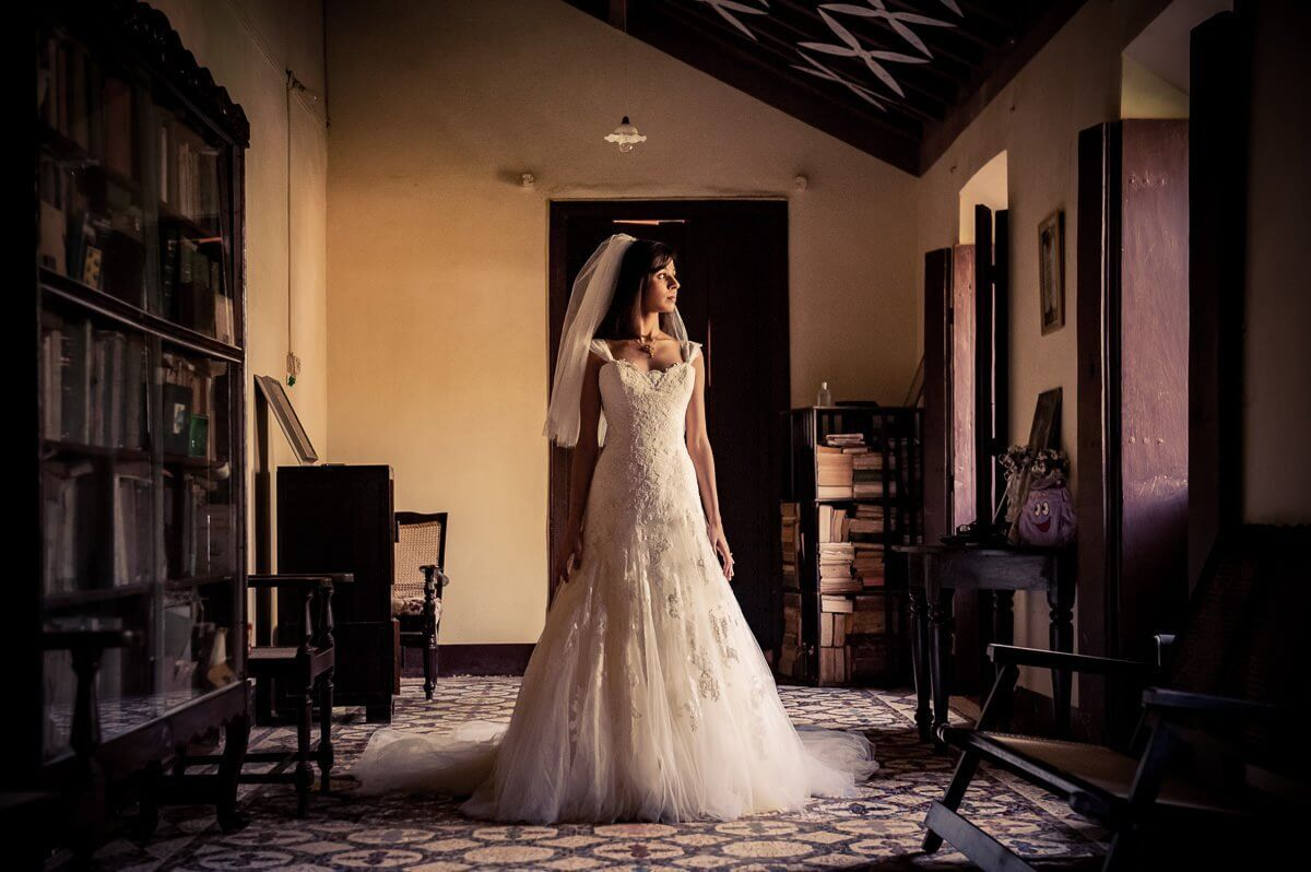 Traditional Christian wedding in Goa
