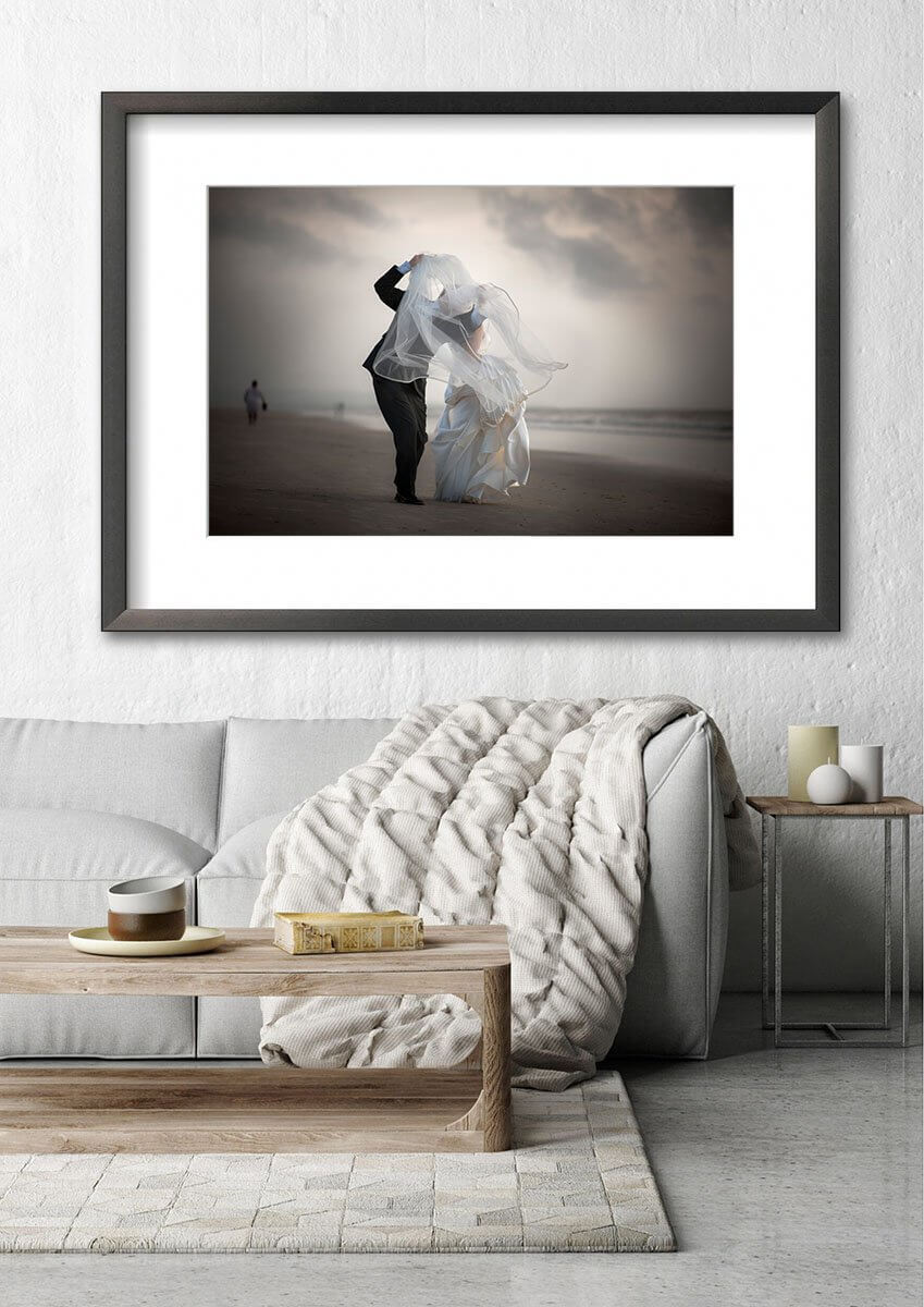 fine art prints of your wedding picture