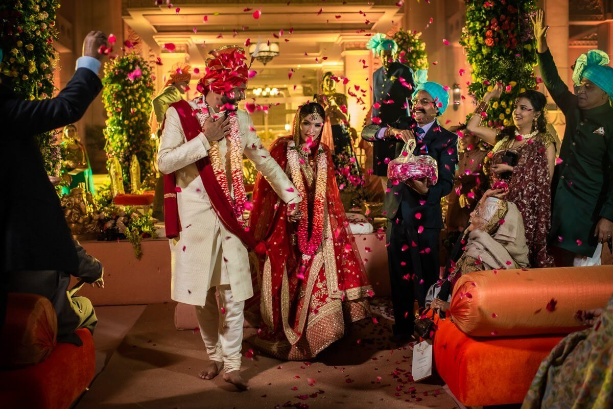 Indian wedding at ITC Grand Bharat