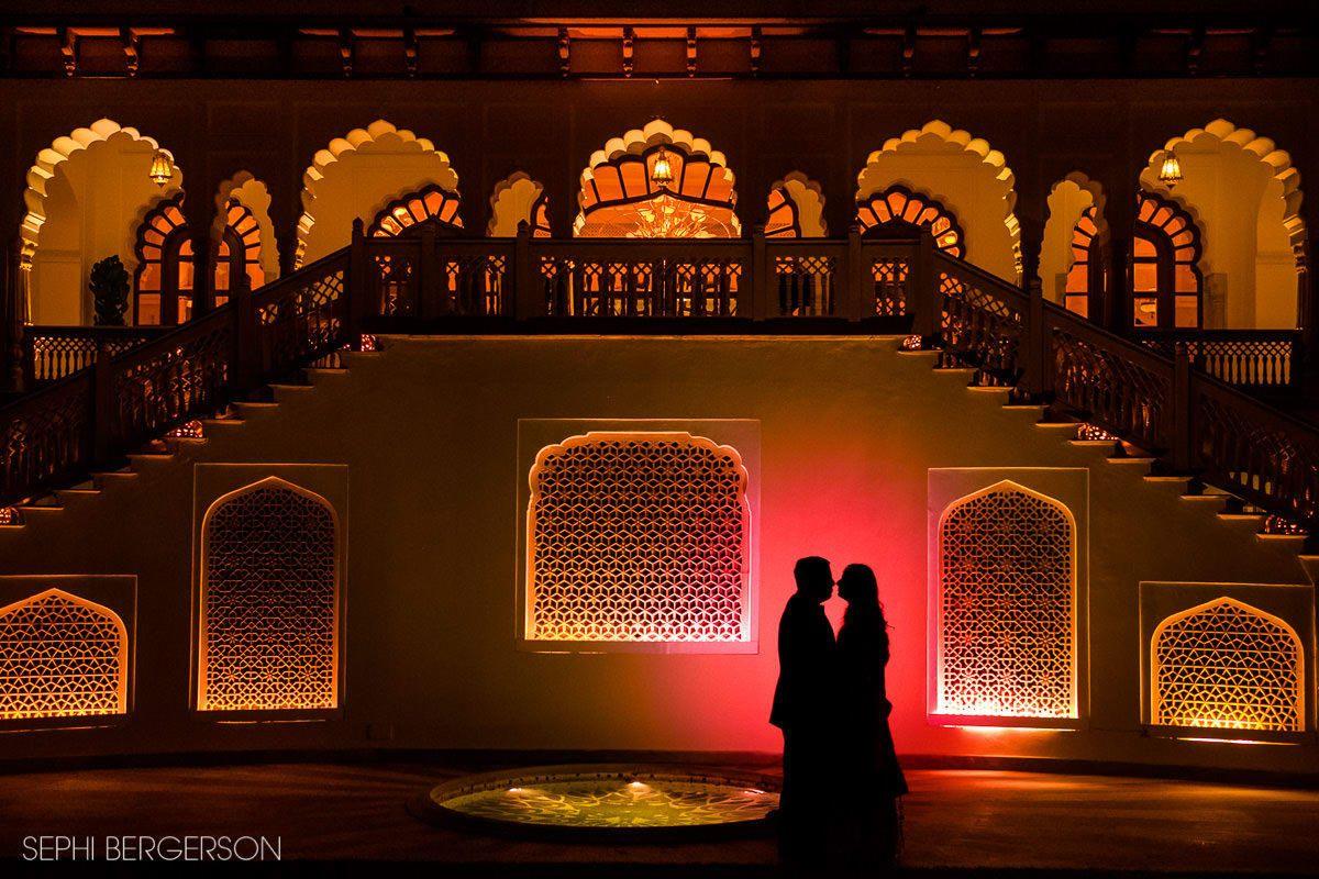 Indian wedding with LED