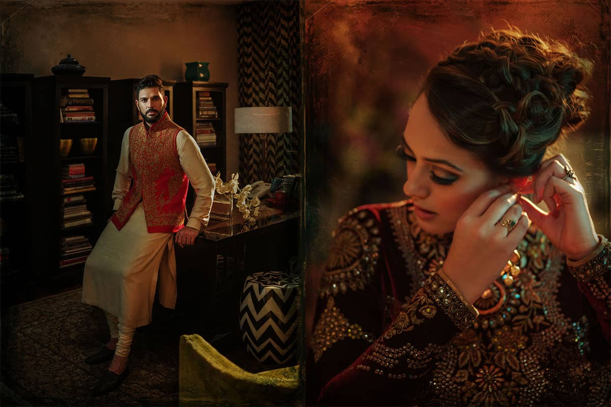 fashion photography in Indian weddings