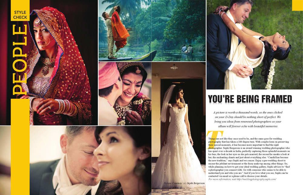 wedding photographer featured in CEO Lifestyle magazine
