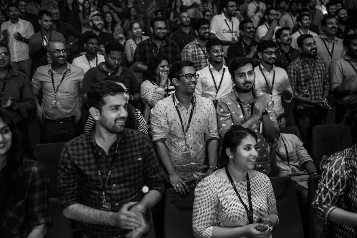 Participants at SILK INSPIRE 2016 wedding photography festival in Goa