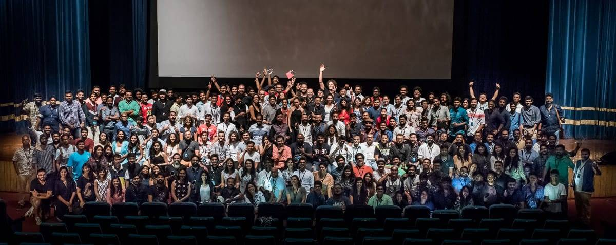 Group picture at SILK INSPIRE 2016 wedding photography festival in Goa