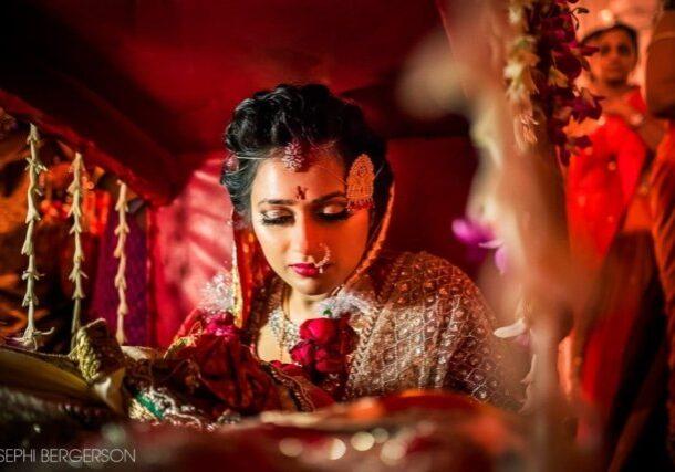 Indian wedding photography with LED